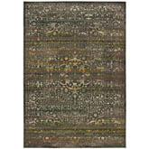 Oriental Weavers Mantra 508N7 Grey and Gold