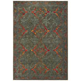 Oriental Weavers Mantra 5502D Grey and Red