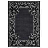 Oriental Weavers Marina 1247K Black and Ivory