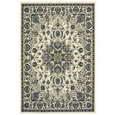 Oriental Weavers Marina 1248W Ivory and Navy