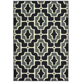 Oriental Weavers Marina 1491Z Black and Grey