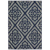Oriental Weavers Marina 3804B Navy and Ivory