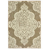 Oriental Weavers Marina 5929J Tan and Ivory