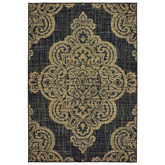 Oriental Weavers Marina 5929K Black and Tan