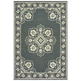 Oriental Weavers Marina 7764E Grey and Ivory