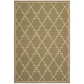 Oriental Weavers Marina 7765Y Tan and Ivory