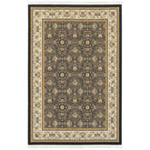 Oriental Weavers Masterpiece 1331B Navy and Ivory