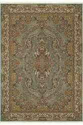 Oriental Weavers Masterpiece 502L2 Blue and Gold