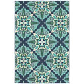 Oriental Weavers Meridian 2206B Blue and Green
