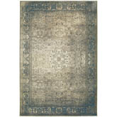 Oriental Weavers Pasha 1330E Blue and Beige