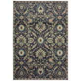 Oriental Weavers Raleigh 022K5 Navy and Ivory