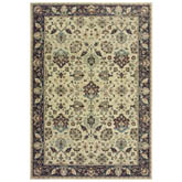 Oriental Weavers Raleigh 8026E Ivory and Navy