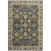 Oriental Weavers Raleigh 8026P Navy and Ivory