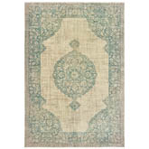 Oriental Weavers Raleigh 099J5 Ivory and Blue