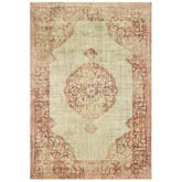 Oriental Weavers Raleigh 099W5 Ivory and Pink
