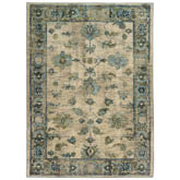 Oriental Weavers Sedona 5171C Ivory and Blue