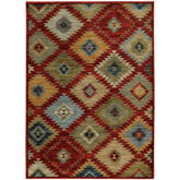 Oriental Weavers Sedona 5936D Red and Multi