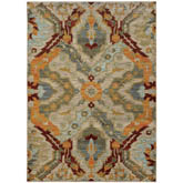 Oriental Weavers Sedona 6357A Beige and Orange