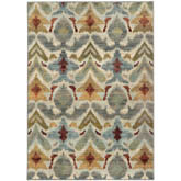 Oriental Weavers Sedona 6371C Ivory and Grey
