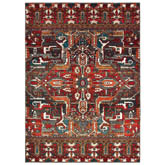 Oriental Weavers Sedona 9575A Red and Orange