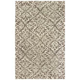 Oriental Weavers Tallavera 55607 Brown and Ivory