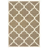 Oriental Weavers Verona 529J6 Taupe and Ivory