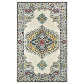 Oriental Weavers Zahra 75505 Ivory and Grey