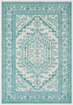 Safavieh Adirondack ADR108G Ivory and Teal