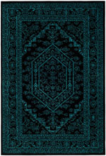 Safavieh Adirondack ADR108K Black and Teal