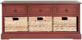 DAMIEN 3 DRAWER STORAGE BENCH
