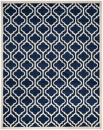 Safavieh Amherst AMT402P Navy and Beige