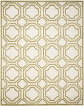 Safavieh Amherst AMT411A Ivory and Light Green