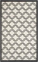 Safavieh Amherst AMT412D Ivory and Anthracite
