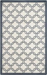 Safavieh Amherst AMT412M Ivory and Navy