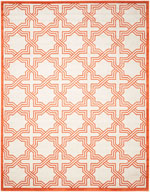 Safavieh Amherst AMT413F Ivory and Orange