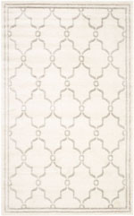 Safavieh Amherst AMT414E Ivory and Light Grey
