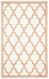 Safavieh Amherst AMT414F Beige and Orange
