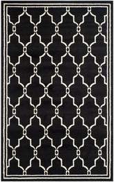 Safavieh Amherst AMT414G Anthracite and Ivory
