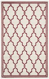 Safavieh Amherst AMT414H Ivory and Red