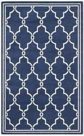 Safavieh Amherst AMT414P Navy and Beige