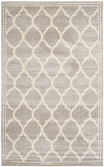Safavieh Amherst AMT415B Light Grey and Ivory