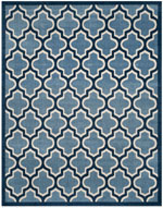 Safavieh Amherst AMT420Q Light Blue and Navy
