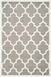 Safavieh Amherst AMT420R Dark Grey and Beige