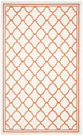 Safavieh Amherst AMT422F Beige and Orange