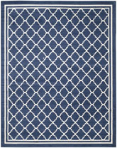 Safavieh Amherst AMT422P Navy and Beige