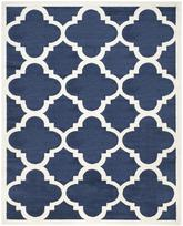 Safavieh Amherst AMT423P Navy and Beige