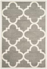 Safavieh Amherst AMT423R Dark Grey and Beige