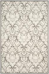 Safavieh Amherst AMT427R Dark Grey and Beige
