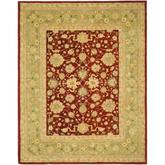 Safavieh Anatolia AN522D Red and Moss