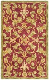 Safavieh Anatolia AN527A Burgundy and Sage